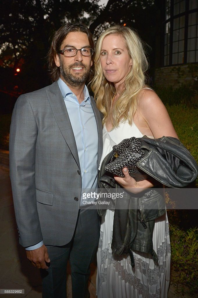 Musician Rob Bourdon of the band Linkin Park (L) and guest attend the special…
