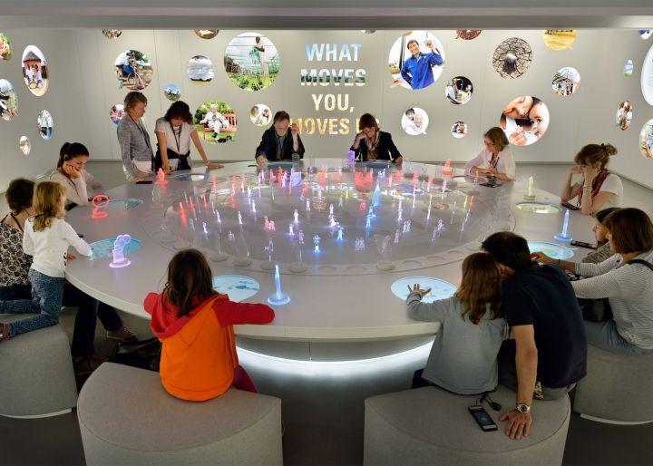 Nestlé exhibition area by Tinker Imagineers, Vevey – Switzerland » Retail Design Blog