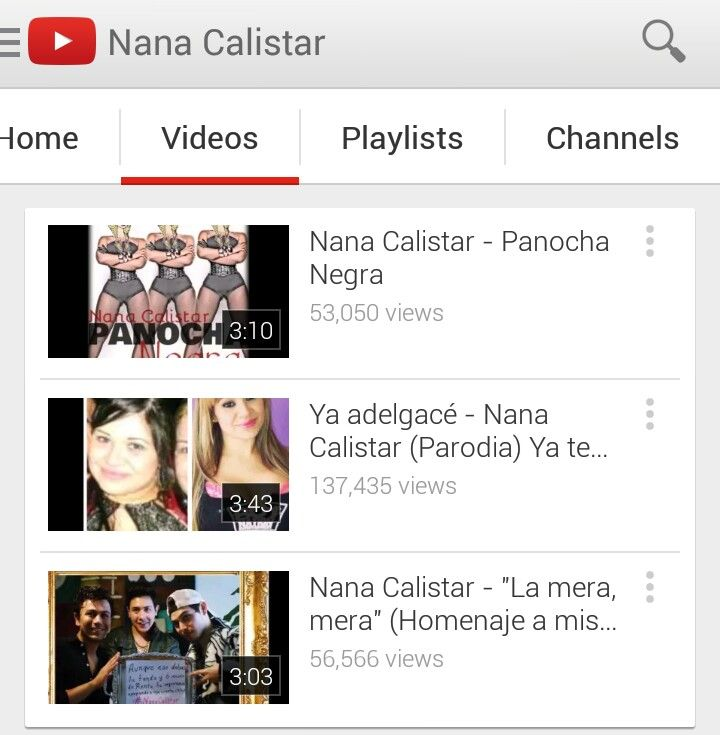 Los exitos de la Nana Calistar! #SubscribeteYa