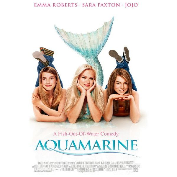 Aquamarine The Movie Credit Kaitlyn ❤ liked on Polyvore featuring movies, film, aquamarine, dvds and peliculas