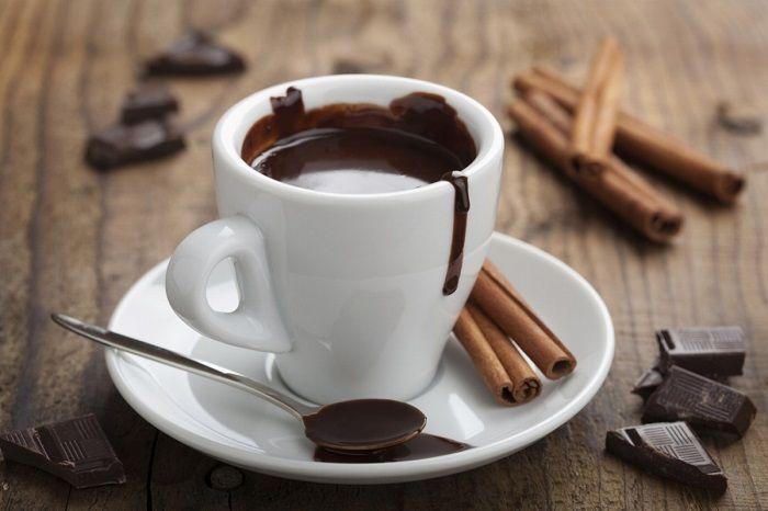 Домашний горячий шоколад