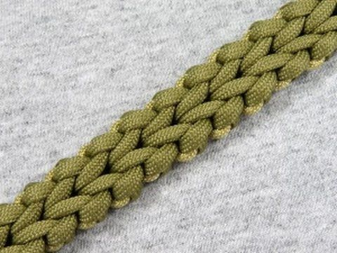 How to make a Cyber Falls Sinnet (Paracord Bracelet) Tutorial (Paracord ...