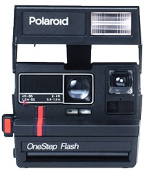 Countless variations of this model were produced during the nineteen eighties and nineties. Use type 600 integral film. The most common and numerous Polaroid cameras around today.