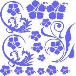 autoaufkleber selber gestalten Blumen Aufkleber selber gestalten 3