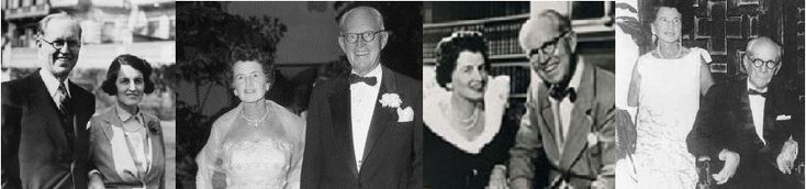 Joe and Rose Kennedy, from the late 30s to the late 60s.