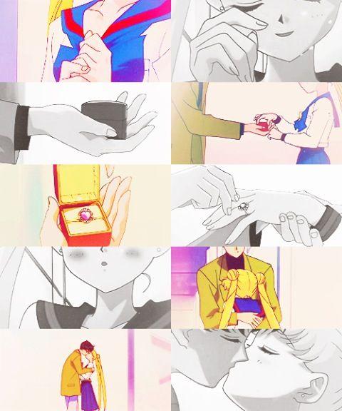 Sailor Moon - Mamoru/Darien and Usagi/Serena