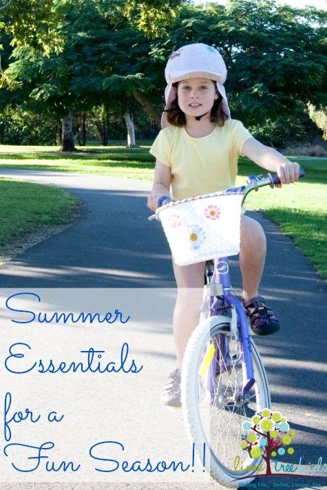 Six Summer Essentials for a Safe and Fun Season  #limetreekids #play #kids #fun #limetreemummablog