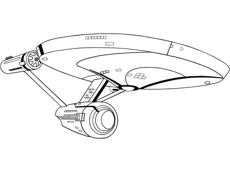 Star Trek Coloring Pages   TAS Coloring Book