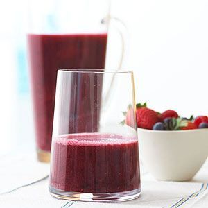 Cherry-Berry Smoothies Loaded with Vitamin C and antioxidants, these smoothies offer a simple and healthy cooling treat.