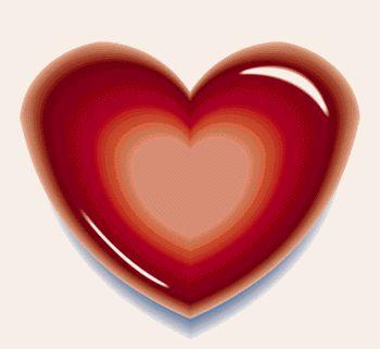 corazones en movimiento