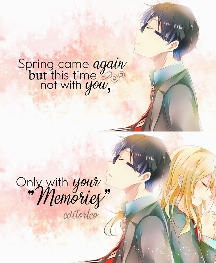 Your Lie In April Anime Quotes The Truth Of Our World Pinterest