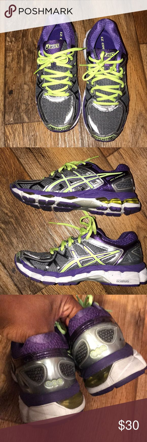 Women's ASICS GEL💜💜💜💜💜 Very nice size 7 pair of ASICS gel tennis for women in good condition. Asics Shoes Athletic Shoes
