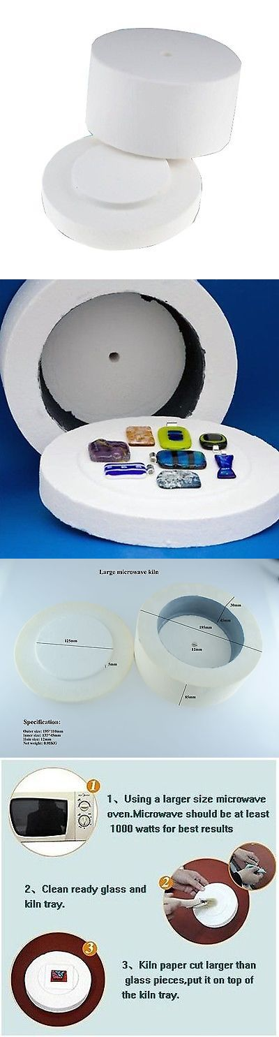 Other Glass Art Supplies 3099: Professional Extra Large Microwave Kiln For Fusing Glass Melting Diy Glas... New -> BUY IT NOW ONLY: $46.15 on eBay!