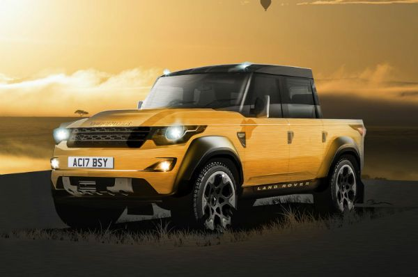 2020 Land Rover Defender | Cars | Land rover defender pickup