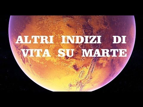 ANCORA CHIARI INDIZI DI VITA PASSATA SU MARTE - YouTube