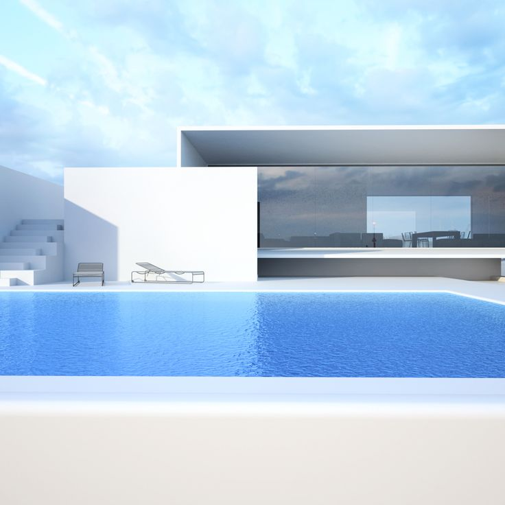 Concepts roman vlasov future pinterest house for Pool design concepts