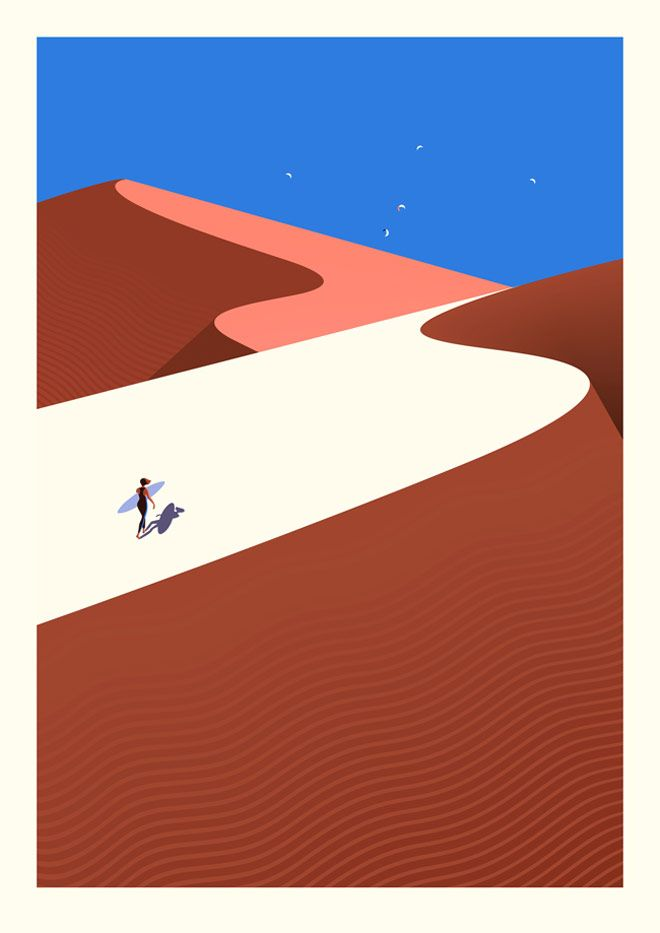 #Onthedraw, un viaje ilustrado por las Islas Canarias | Singular Graphic Design #MalikaFavre