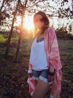 Perfekt für den Sommerabend: Kimono nähen | MakeHappyStuff