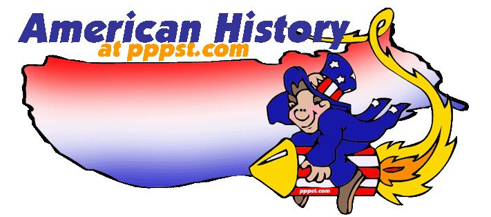 American History - FREE presentations in PowerPoint format, PLUS Free Interactive Activities for Kids
