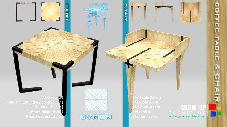 interior produk design, table design, chair design, design perabot, custom furniture banjarmasin