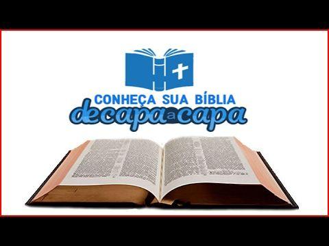 ASSINE O CURSO E CONHEÇA A BÍBLIA DE CAPA A CAPA. VOCÊ ESTUDARÁ ONLINE A BÍBLIA SAGRADA DE GÊNESIS A APOCALIPSE. https://go.hotmart.com/O5565519V