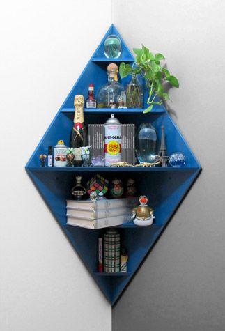 Diamond Corner Shelf