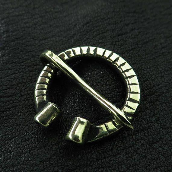 Small Brass Penannular Viking Brooch