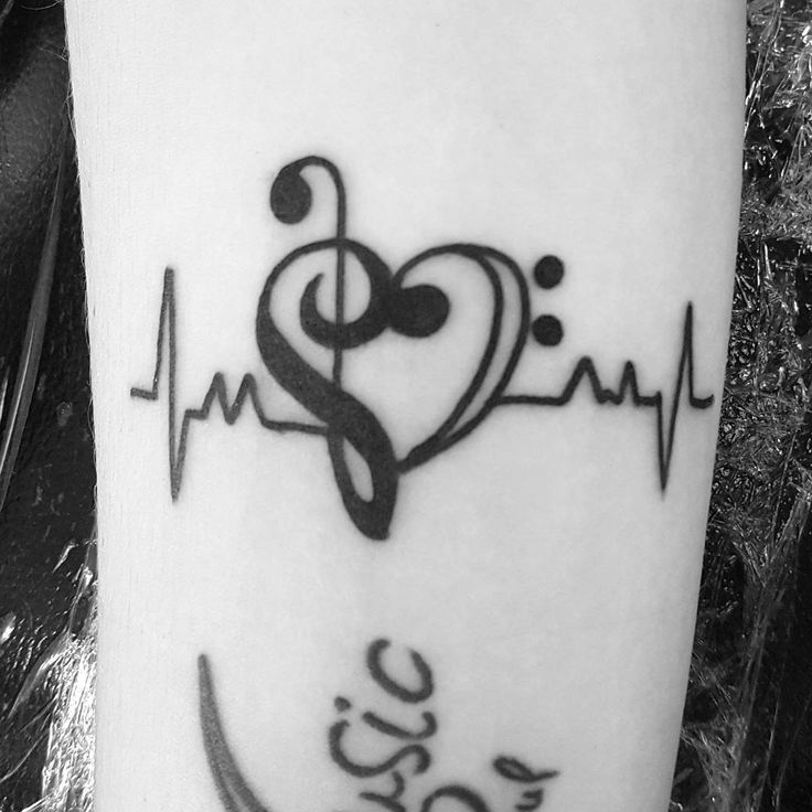 100 Music Tattoo Designs For Music Lovers                              …                                                                                                                                                                                 More