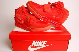 "Nike Air Yeezy 2 ""Red October"" trainers"