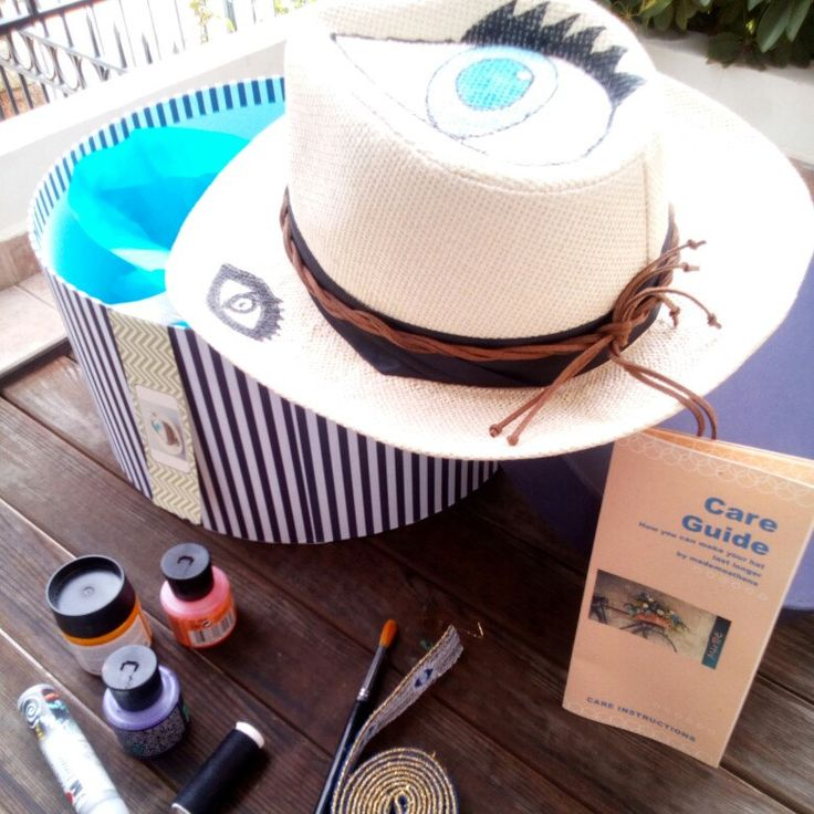 Here comes the sun.  Choose your hat and let the sunshine in...
