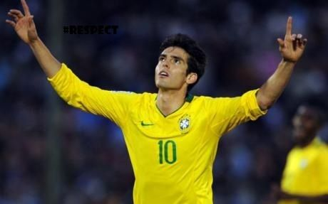 Ricardo Kaka. The only person who beat both Ronaldo and Messi to win the Ballon D'Or.