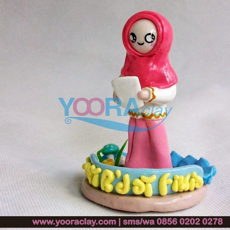 Clay Figure 'Pink'