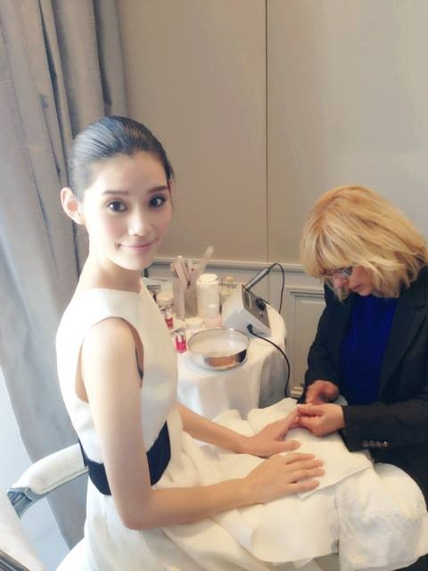 #beauty time #Christian Dior