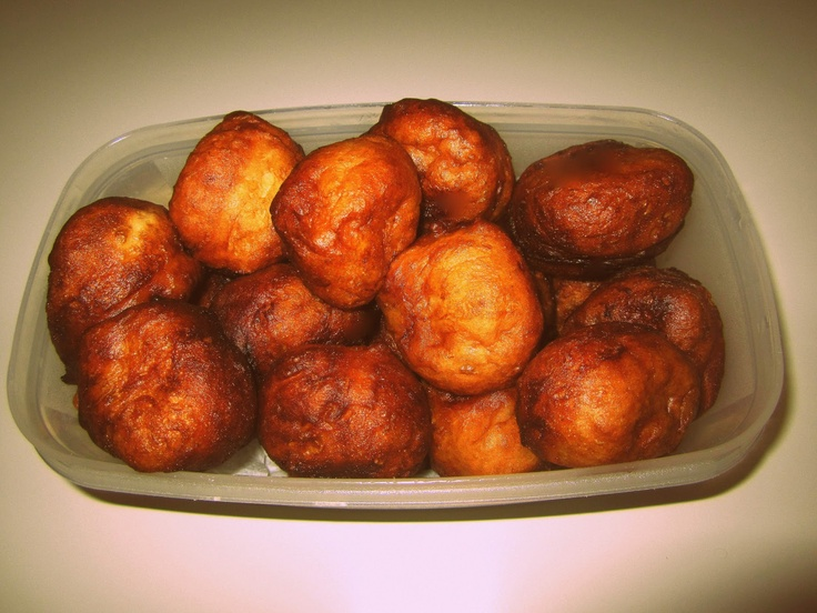 These are all the names for these fried African buns cooked all over Africa...Mikate, mandasi, chitumbuwa, vetkoek, puff puff...they are DELICIOUS!
