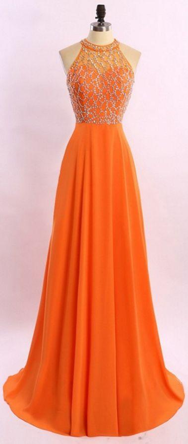 #orange #chiffon  #prom #party #evening #dress #dresses #gowns #cocktaildress #EveningDresses #promdresses #sweetheartdress #partydresses #QuinceaneraDresses #celebritydresses #2016PartyDresses #2016WeddingGowns #2017HomecomingDresses #LongPromGowns #blackPromDress #AppliquesPromDresses #CustomPromDresses #backless #sexy #mermaid #LongDresses #Fashion #Elegant #Luxury #Homecoming #CapSleeve #Handmade #beading