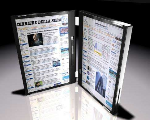 Canova Dual Touch Screen Laptop    WANT.  Available only in Italy and Australia.  I see travel in my future.