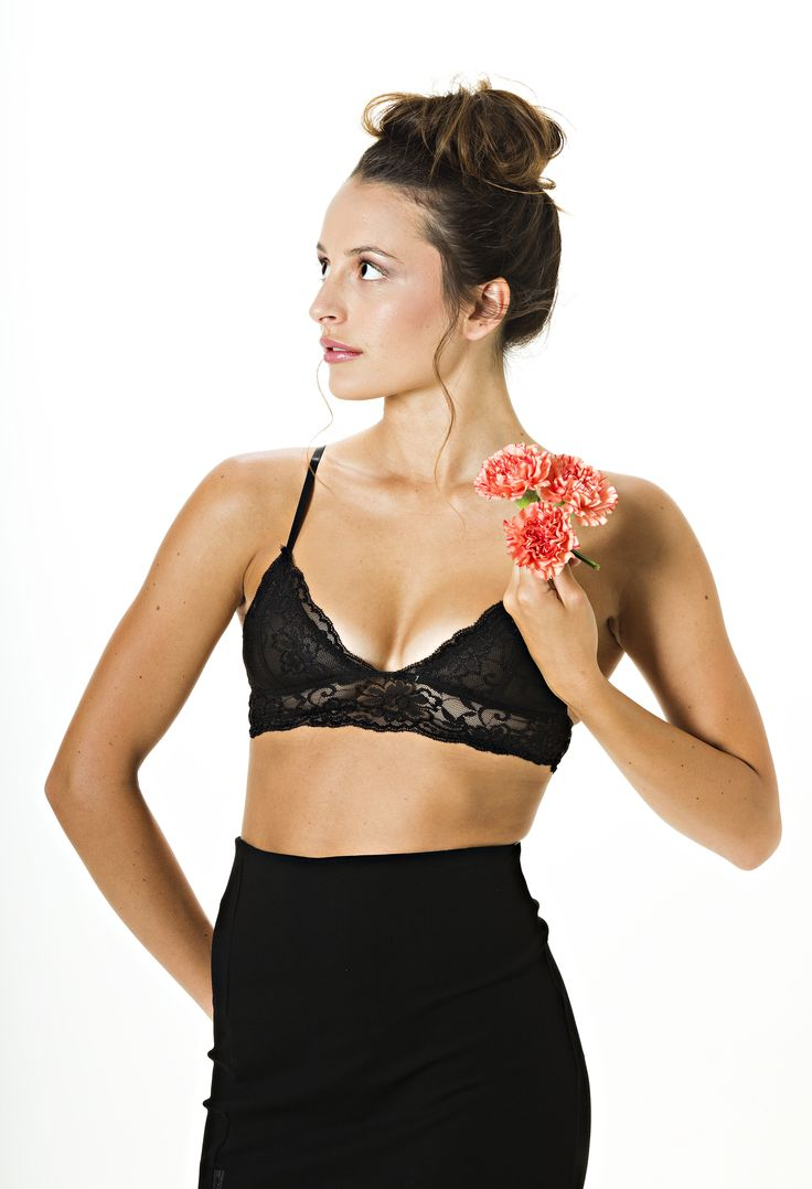 The Freedom Bralette in black is available now at www.vanillamayboutique.co.nz