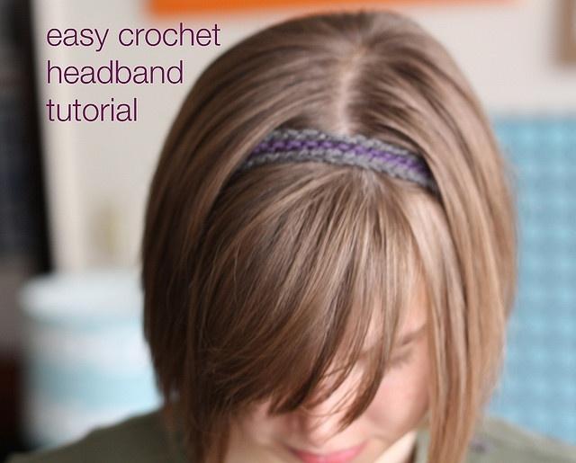crochet headband tutorial Crochet Inspirations Pinterest