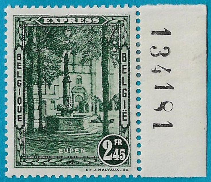 + 1931 Belgium Eupen Special Delivery No.Inscription Bob #E5 SD2 2.45Fr MH