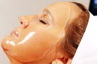 Желатин прекрасно увлажняет и подтягивает кожу лица