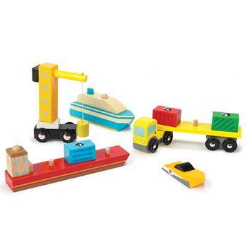 Σετ οχήματα λιμανιού Le Toy Van