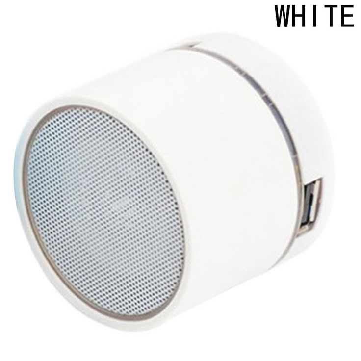 Mini Wireless Smart LED Bluetooth Music Speaker Audio Sound Luminous Speaker for Phone USB Flash Disk Waterproof