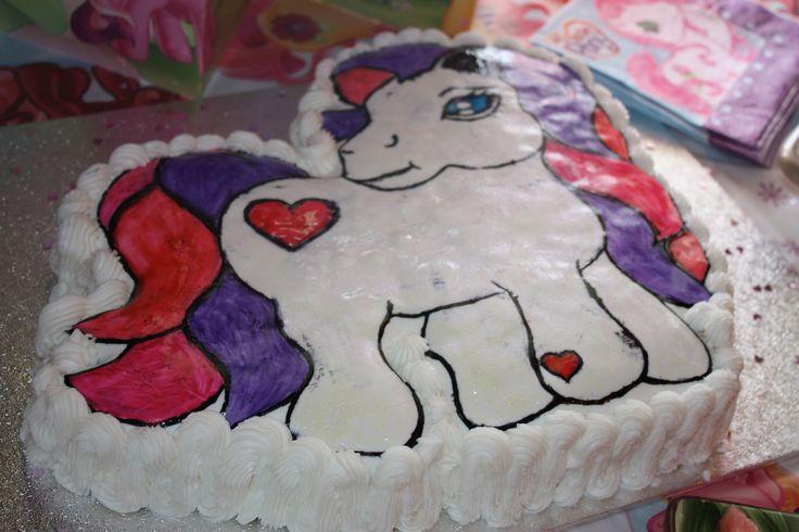My little pony #cake #birthdayparty
