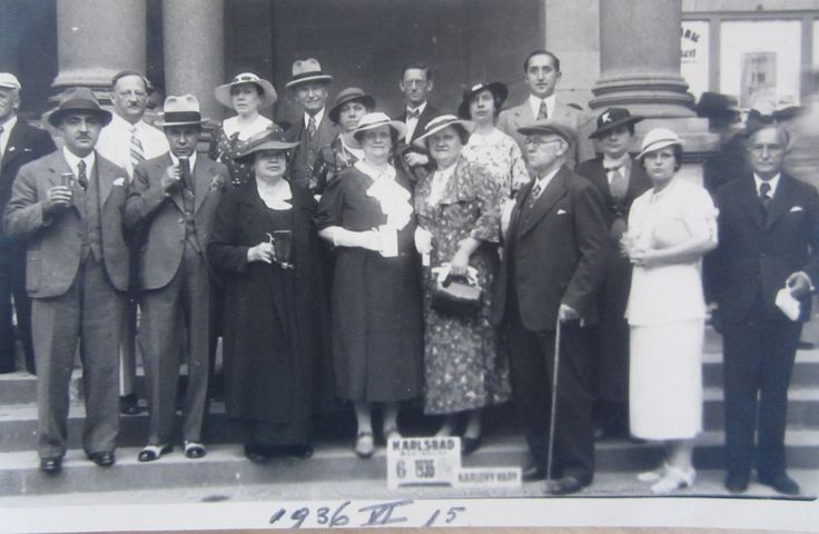 Karlsbad 15 june 1936