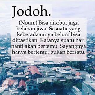 comma wiki #jodoh