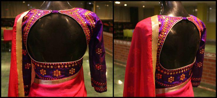 Mirror work blouse - Studio 149 by Swathi