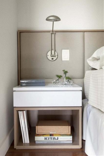 girls' head board, nightstand