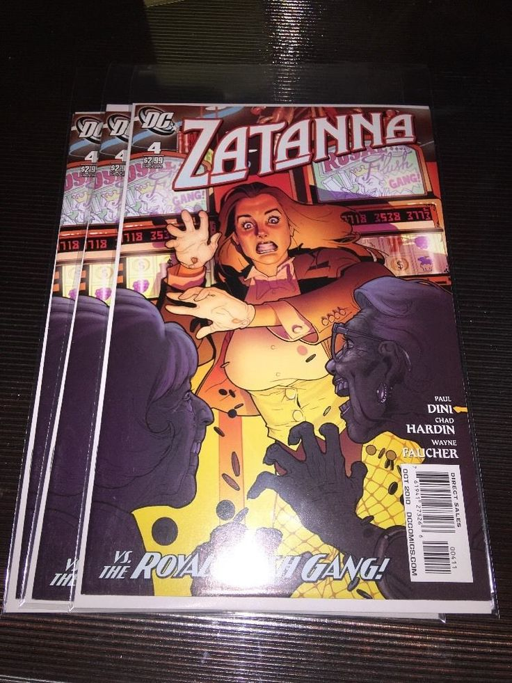 Zatanna #4 2010 DC Comics Paul Dini 1st print Stephanie Roux  | Collectibles, Comics, Modern Age (1992-Now) | eBay!