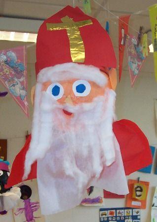 3d knutsel: Sinterklaas