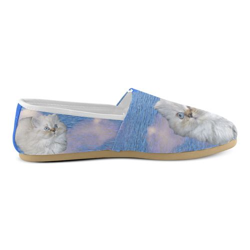 Cat and Water Women's Casual Shoes (Model 004)